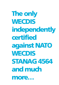The only WECDIS independently certified against NATO WECDIS STANAG 4564